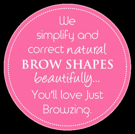 simplify and correct natural brow shapes