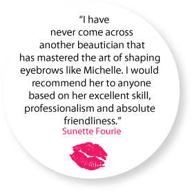 testimonial from sunette fourie